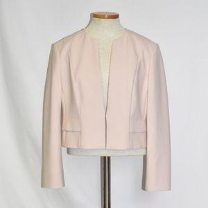 BOSS Hugo Boss Pale Pink Bolero Blazer sz 10